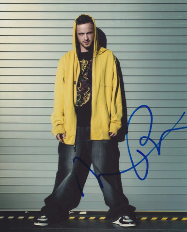 AARON PAUL SIGNED BREAKING BAD 8X10 PHOTO