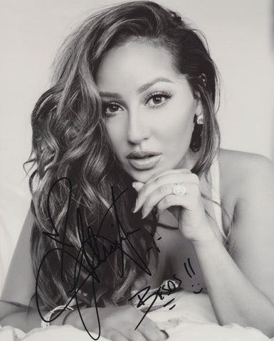 ADRIENNE BAILON SIGNED 8X10 PHOTO