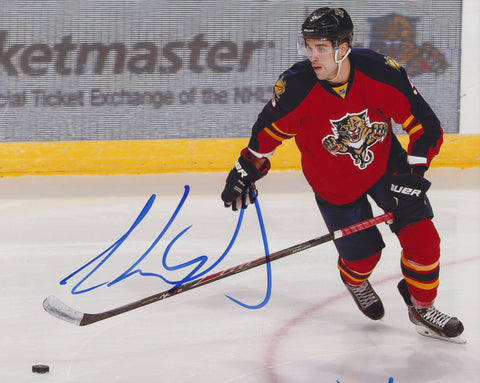 AARON EKBLAD SIGNED FLORIDA PANTHERS 8X10 PHOTO 3