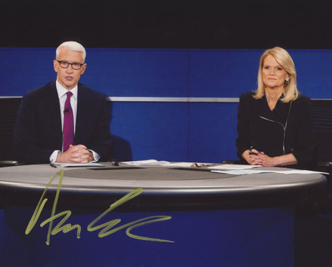 ANDERSON COOPER SIGNED CNN 8X10 PHOTO 2