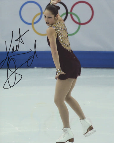 KAETLYN OSMOND SIGNED 2014 OLYMPIC FIGURE SKATING 8X10 PHOTO