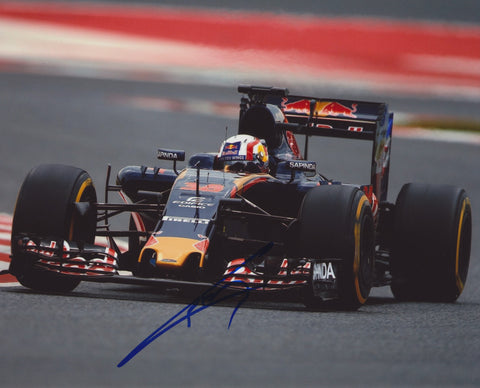 PIERRE GASLY SIGNED ASTON MARTIN RED BULL RACING F1 FORMULA 1 8X10 PHOTO 2