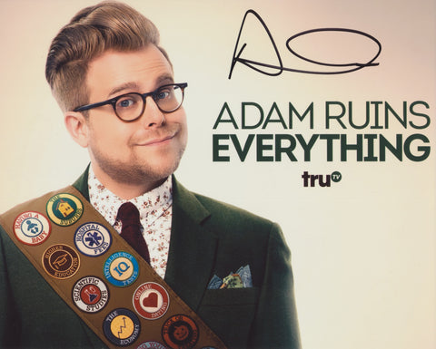 ADAM CONOVER SIGNED ADAM RUINS EVERYTHING 8X10 PHOTO