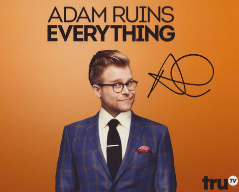ADAM CONOVER SIGNED ADAM RUINS EVERYTHING 8X10 PHOTO 2