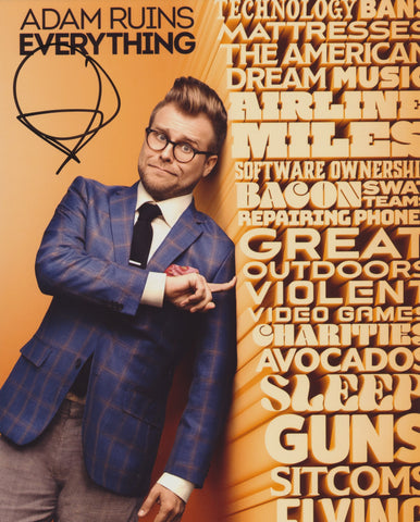 ADAM CONOVER SIGNED ADAM RUINS EVERYTHING 8X10 PHOTO 4