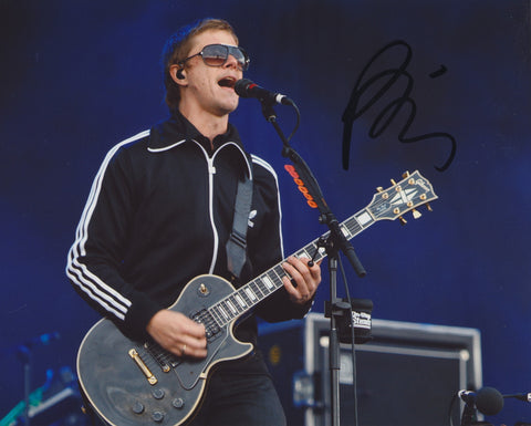 PAUL BANKS SIGNED INTERPOL 8X10 PHOTO