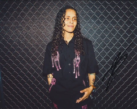 070 SHAKE SIGNED 8X10 PHOTO DANIELLE BALBUENA 7