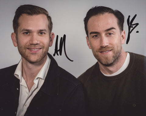 AARON MOORHEAD & JUSTIN BENSON SIGNED 8X10 PHOTO