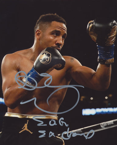 ANDRE WARD SIGNED BOXING 8X10 PHOTO 3