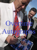 ALEX TREBEK SIGNED JEOPARDY 8X10 PHOTO 2