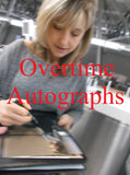 ALLISON MACK SIGNED SMALLVILLE 8X10 PHOTO