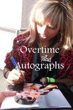 ANJULIE SIGNED 8X10 PHOTO