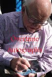 ED ASNER SIGNED UP 8X10 PHOTO