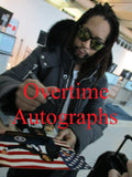 LIL JON SIGNED 8X10 PHOTO