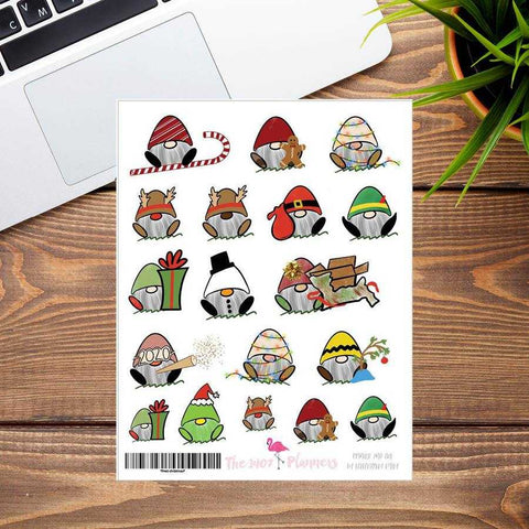 Fred Christmas Stickers