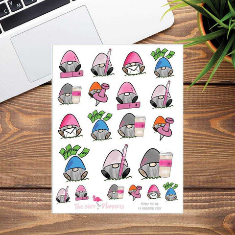 Fred Planner Stickers | the1407planners