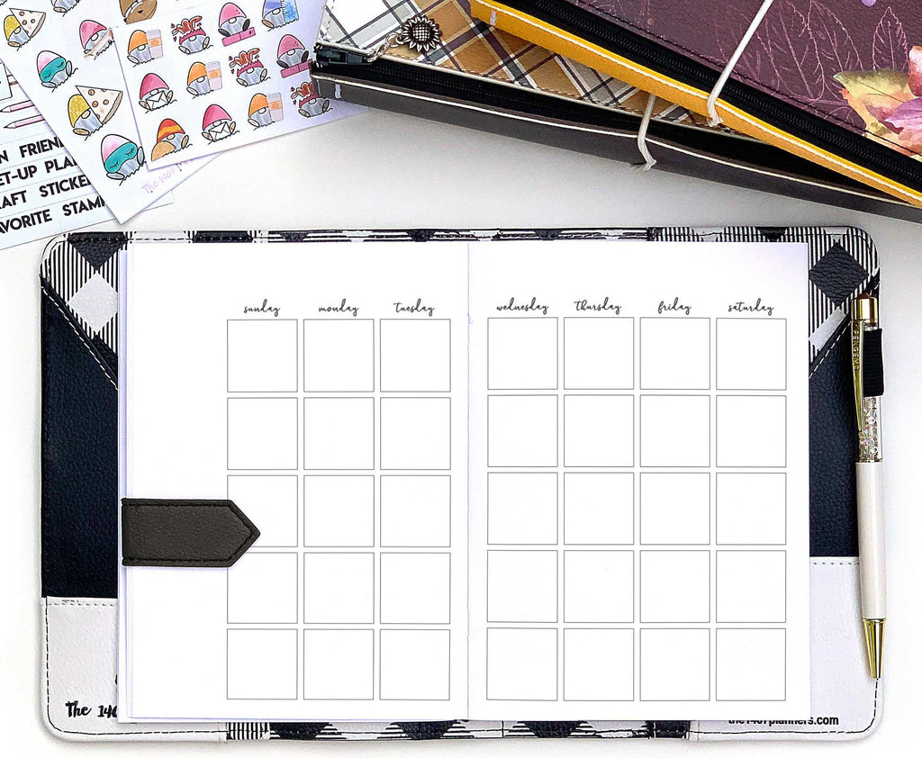 Bullet Journal Month on 2 | the1407planners