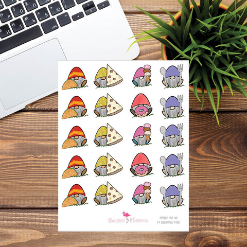 Fred Food Stickers