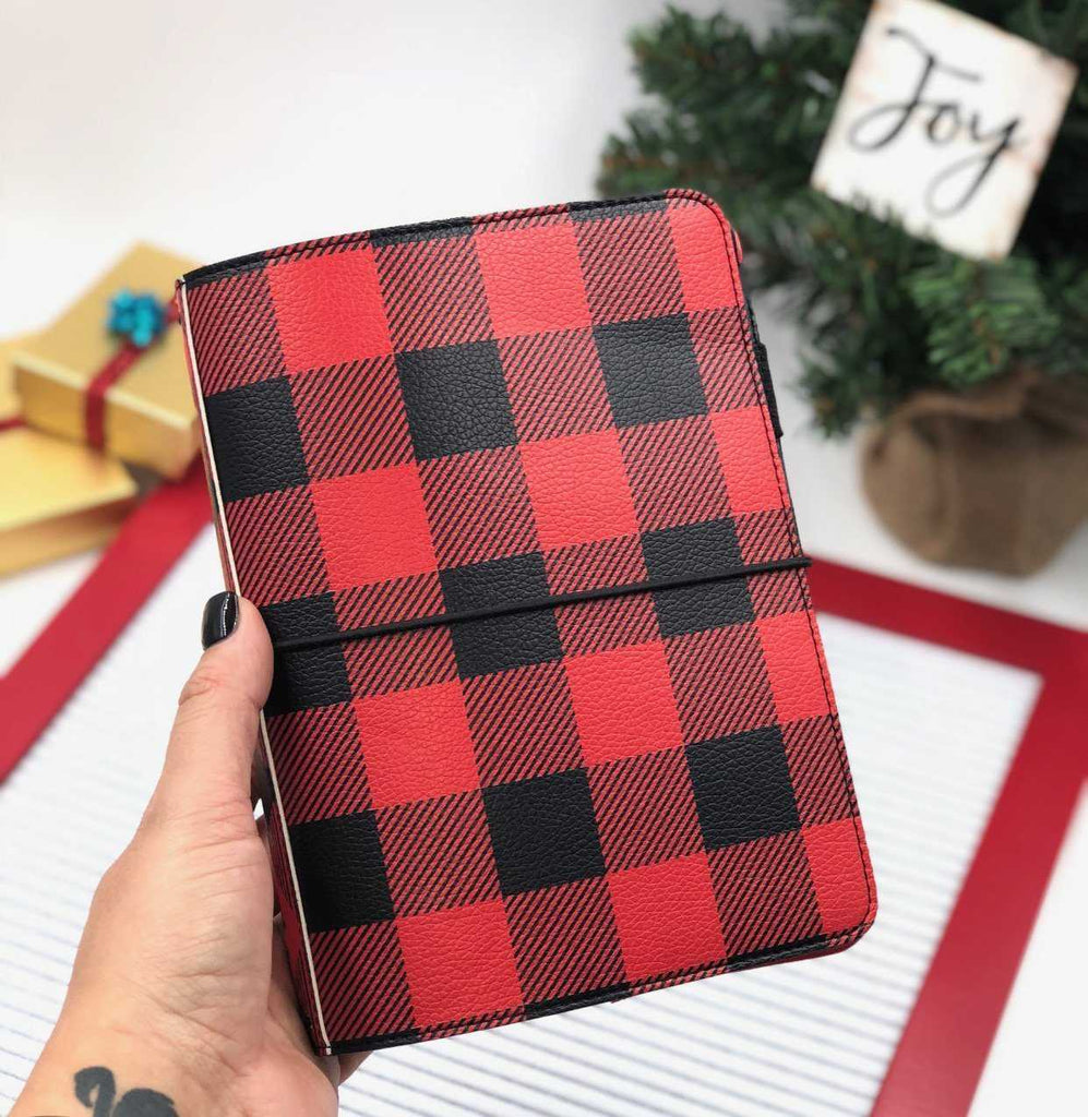 Planner Cover - Buffalo Plaid B6