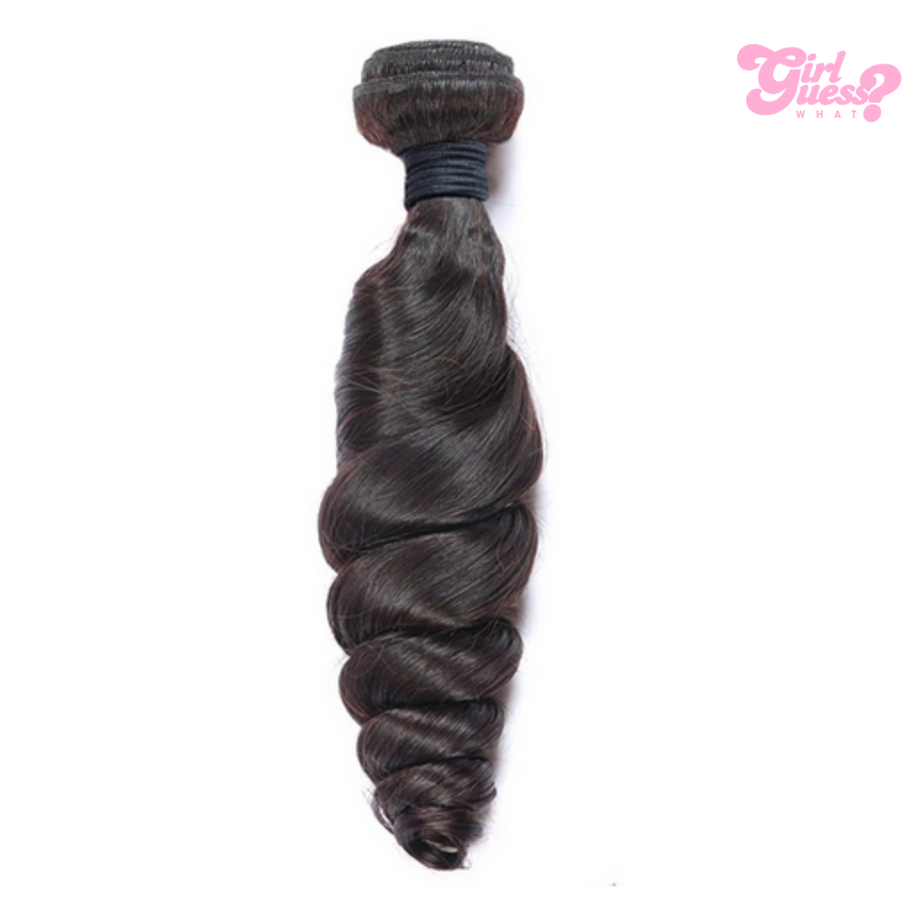 Black Loose Wave Virgin Bundles