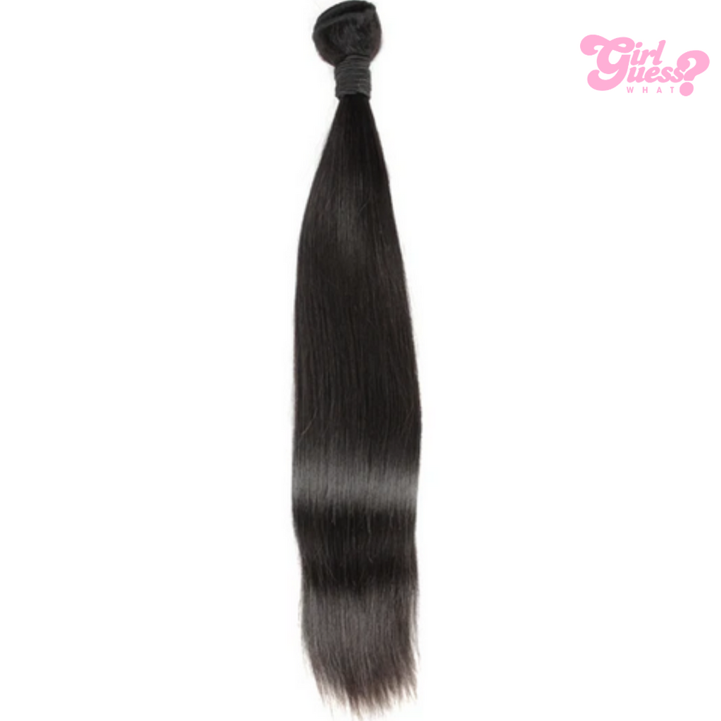 Black Straight Virgin Bundles