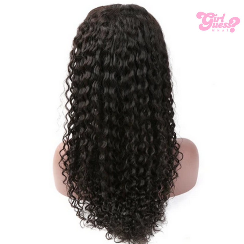 Black Full Curly Lace Wig