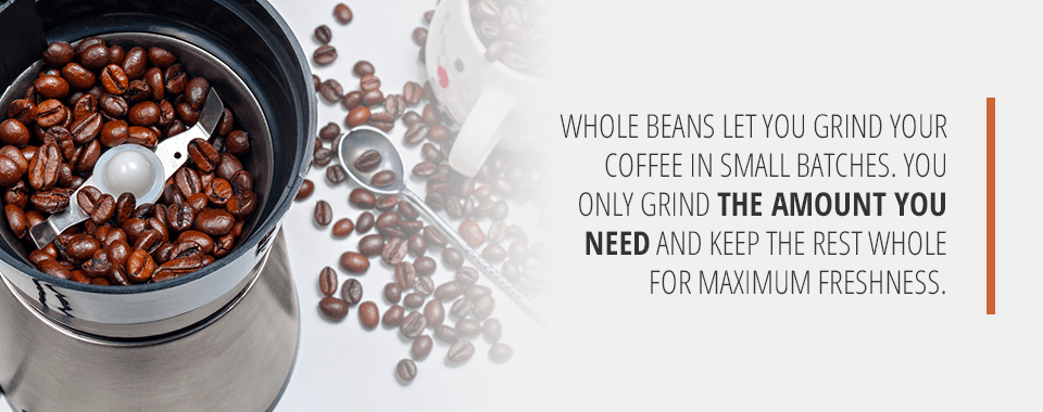 Benefits of Whole Bean Coffee