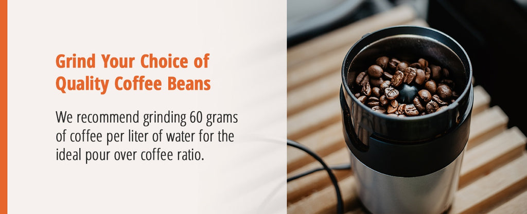 Grind Your Choice of Coffee Beans