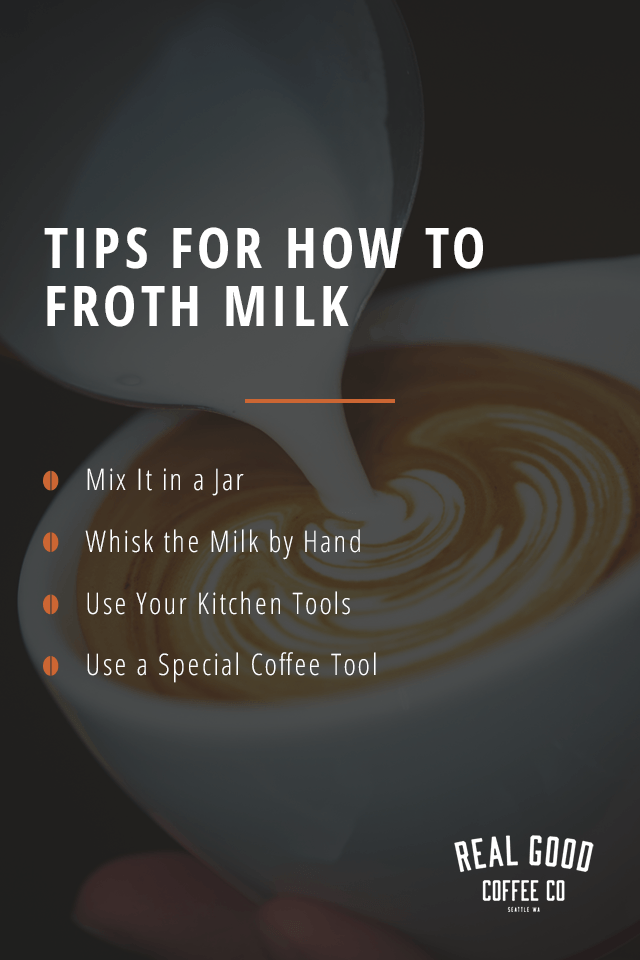Tips for How to Froth Milk