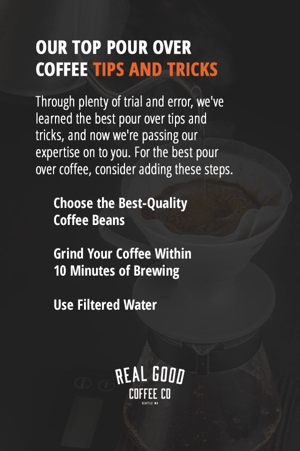 Pour Over Coffee Tips and Tricks
