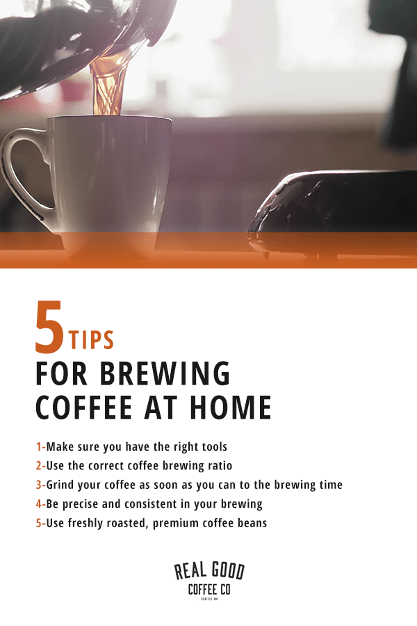 Tips for Brewing Coffee at Home