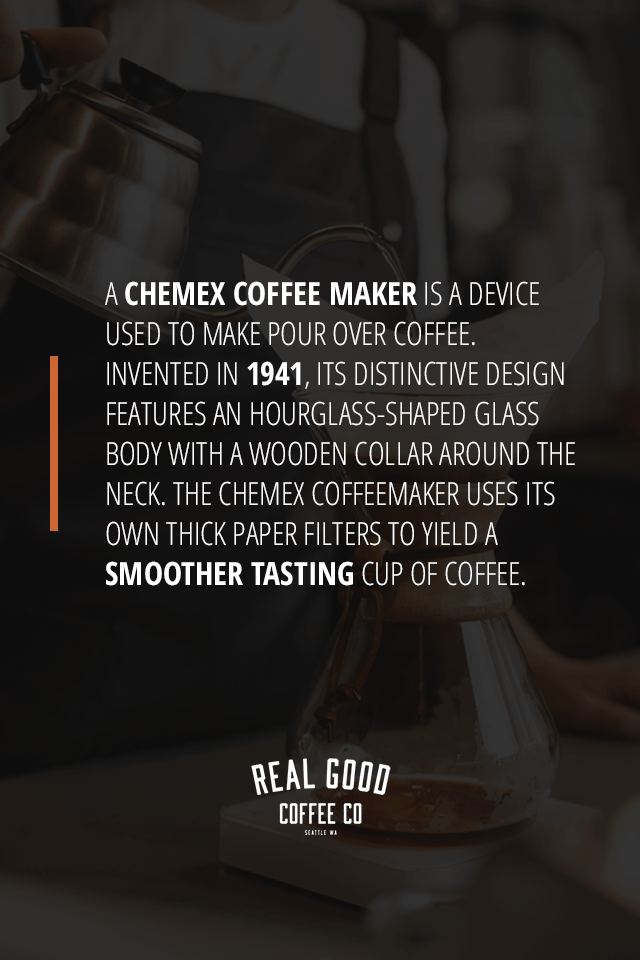 What is a chemex coffee maker