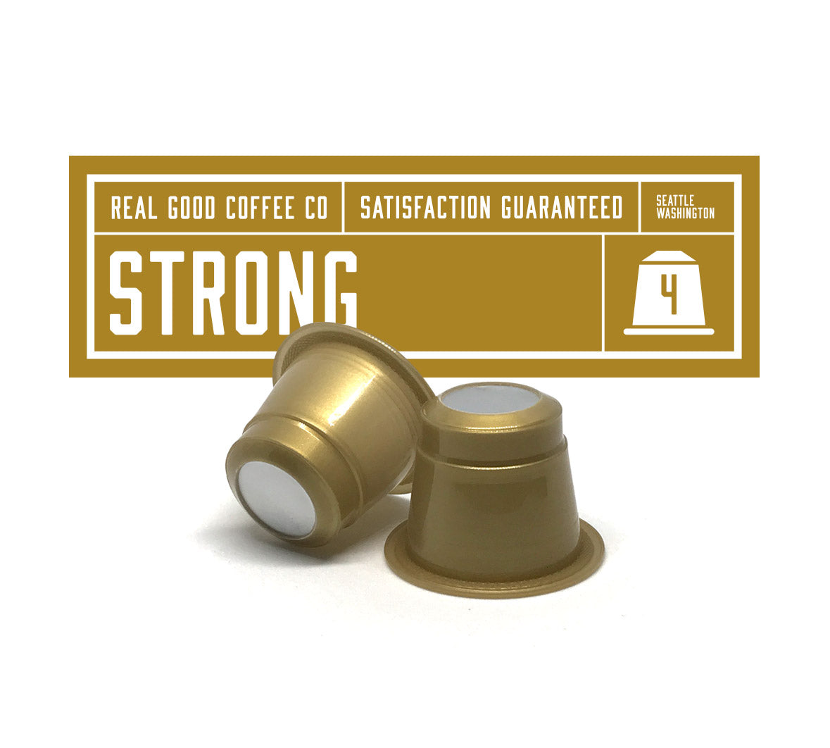 Strong Nespresso Compatible Pods
