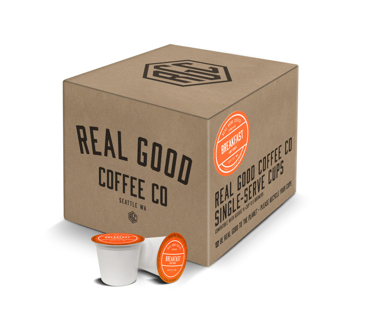 Light Roast Breakfast Blend Cups for Keurig