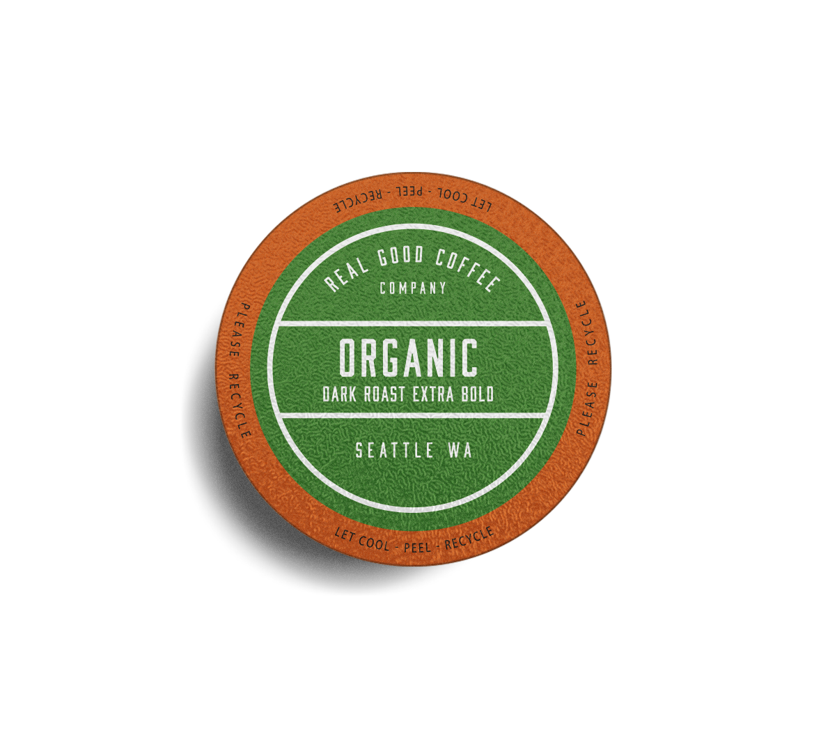 Organic Dark Roast Keurig Compatible Cups