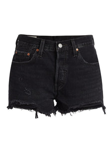 LEVIS PREMIUM WISE UP 501 CUT OFF SHORTS - 8586