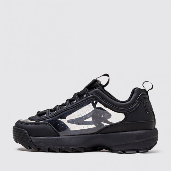 FILA WOMENS DISRUPTOR 11 CLEAR DAD SHOES - 8586