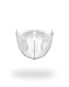 SPRAYGROUND UNISEX CLEAR FACE MASK - 8586