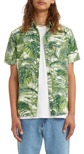 levis premium tropical fern button up shirt - 8586