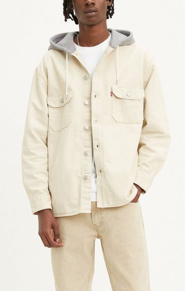 LEVIS JACKSON HOODED OVERSHIRT - 8586