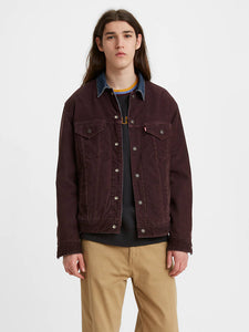 LEVIS PREMIUM CORDURY TWO FACED DENIM JACKET -8586