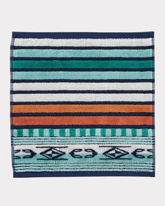 PENDLETON: CHIMAYO TEXTURED WASH CLOTH AQUA - 85 86 eightyfiveightysix