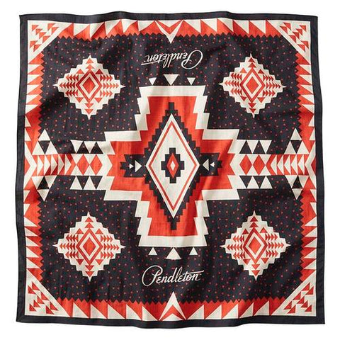 PENDLETON ROCK POINT RED BANDANA - 8586