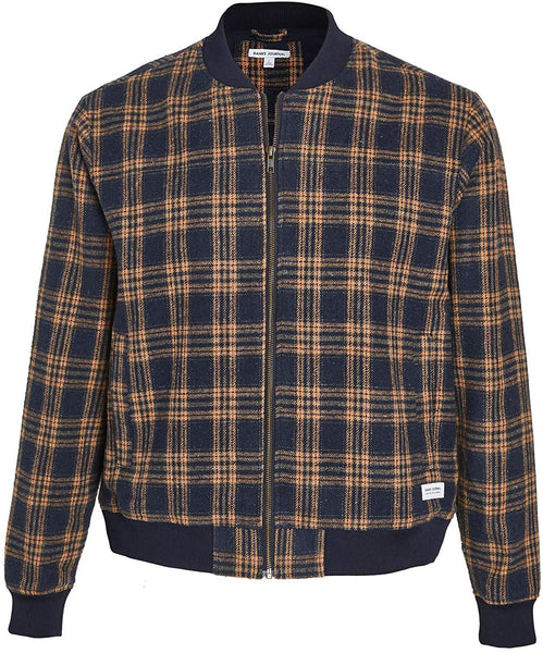 BANKS JOURNAL: DECADE PLAID WOOL BLEND JACKET