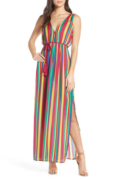 bb Dakota in the rainbows dress - 8586