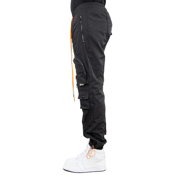 eptm black hyper cargo pocket pants - 8586