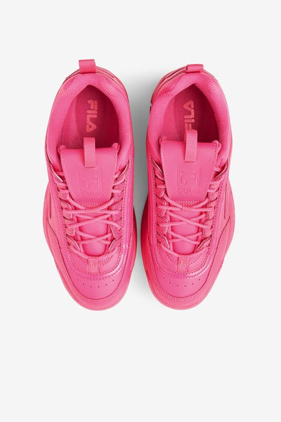 FILA DISRUPTOR II HOT PINK DAD SHOE - 8586