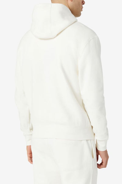FILA HOODED SWEATSHIRT WHITE - 8586