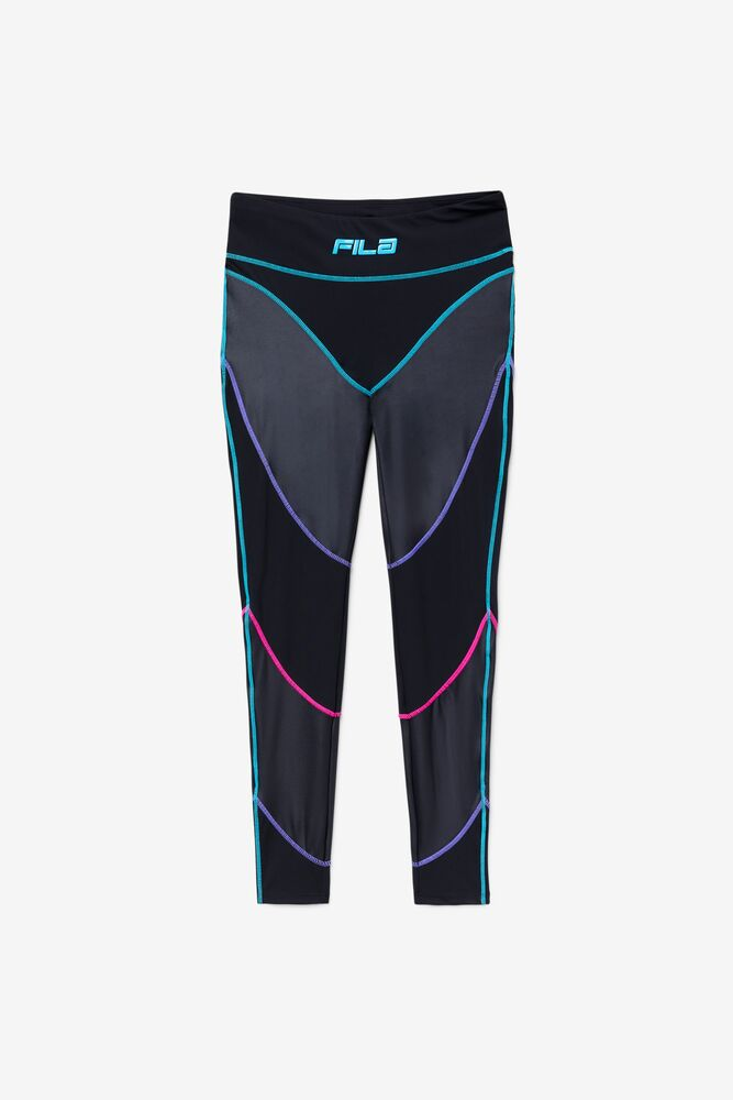 FILA GEORGIE NEON PIPING LEGGINGS - 8586