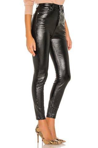 FREE PEOPLE PHOENIX COATED SKINNY JEAN -8586